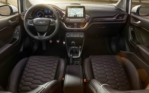 Picture Ford, interior, salon, Fiesta, 2017, Vignale