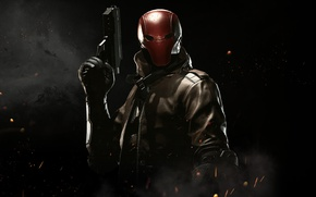 Picture gun, Robin, mask, Red Hood, NetherRealm Studios, Jason Todd, Injustice 2