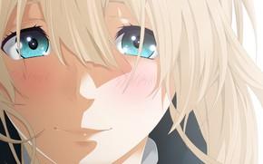 Picture anime, pretty, blonde, asian, manga, sugoi, bishojo, japonese, by parokas, Violet Evergarden, Private・Eva garden, Yui …