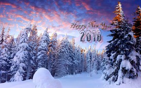 Picture New year, 2018, New Year, Happy new year