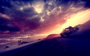 Picture sunset, Heath, masterpiece, mad max, mad max