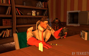 Picture medic, half life, team fortress