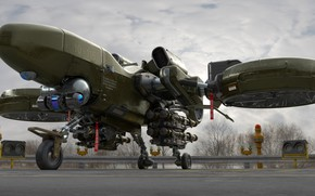 Picture Playground, aircraft, Heavy Drone