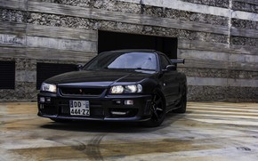 Picture Nissan, Skyline, R34, GT-T