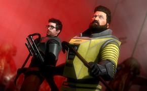 Picture Half-Life, shotgun, scrap, gordon freeman, ivan space biker