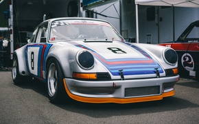 Picture style, sports, Porsche 911, the front, RSR