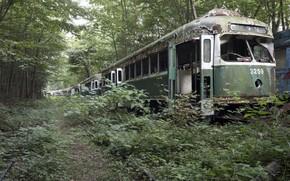 Picture cars, tram, scrap
