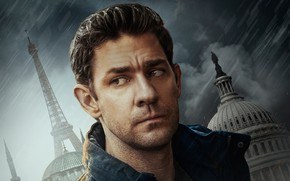 Picture the series, poster, TV Series, Jack Ryan, John Krasinski, John Krasinski