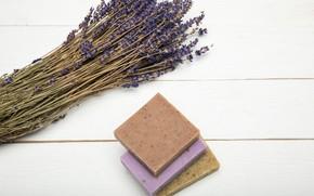 Picture lavender, Spa, Soap