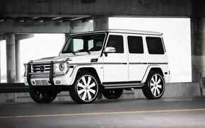 Picture Mercedes, wheels, Forgiato, G550