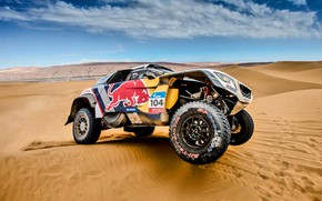 Picture Sand, Sport, Speed, Race, Dirt, Peugeot, Lights, Red Bull, Rally, Rally, Sport, Dune, DKR, 104, …