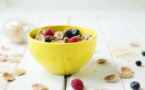 Picture berries, Breakfast, cereal