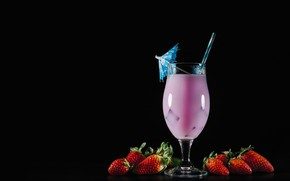 Picture berries, strawberry, cocktail