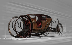 Picture car, vintage, dishonored
