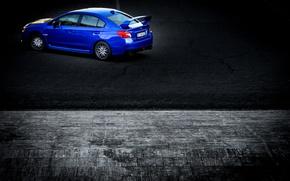 Picture Subaru, Impreza, WRX, STI, Subaru, Impreza, STI, 2014, Bricks