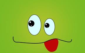 Picture cartoon, Wallpaper, figure, graphics, frog, animation, muzzle, graphics, picture, funny, cartoon, the Wallpapers, Crank, crank, ...