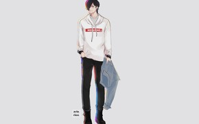 Picture look, anime, art, guy