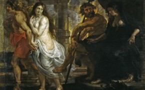 Picture picture, Peter Paul Rubens, mythology, Pieter Paul Rubens, Orpheus and Eurydice