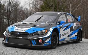 Wallpaper Subaru, WRX, STI, 2018, Rallycross