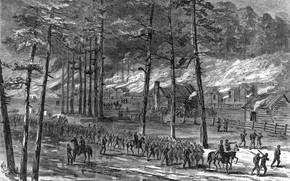 Picture sherman's march through south carolina, American Civil War, Carolinas Campaign
