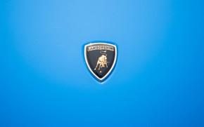 Picture Auto, Blue, Lamborghini, Machine, Classic, Logo, Logo, Car, 1968, Supercar, Lamborghini Miura, P400, Lamborghini Miura …