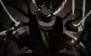 Picture look, art, guy, Kagerou Project