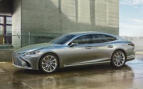 Picture Lexus, Silver, 2017, LS 500