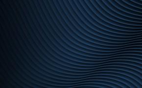 Picture strip, wave, blue color