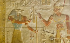 Picture Egypt, bas, Abydos