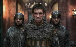 Picture soldier, man, pearls, scar, tv series, The Last Kingdom