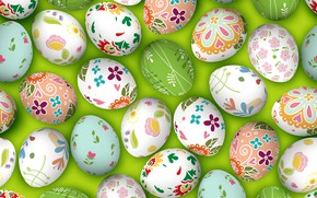 Picture eggs, Easter, eggs