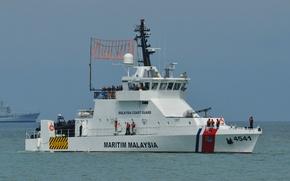 Picture ship, security, Malaysia, coast, guard, Bagan Datuk
