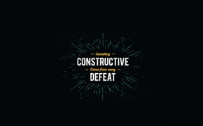 Wallpaper victory, motivation, quote
