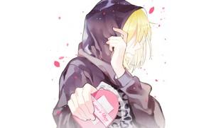 Wallpaper The Sky Girl Guy Two Vocaloid Vocaloid Kagamine Len