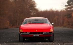 Picture Red, Color, Auto, Machine, Classic, Car, 365, The front, Sports car, Gran Turismo, Daytona, Ferrari …