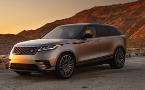 Wallpaper Land Rover, Range Rover, 2018, Dynamic, Velar