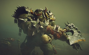 Picture Orc, Warhammer 40k, Armor, Axe, Warriors of Chaos