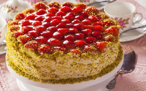 Picture strawberry, cake, cakes