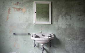 Picture background, wall, sink