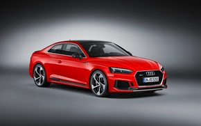 Picture background, Audi, Audi, coupe, red, Coupe, RS 5