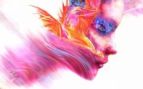 Wallpaper by LusiusMalfoy, fanetti, dragon, male, fire