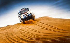 Picture The sky, Sand, Nature, Sport, Speed, Race, Master, Beauty, Russia, Kamaz, Rally, Rally, KAMAZ, The ...