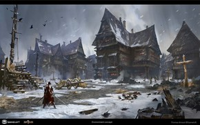 Picture Paris, Iron Blade, Environment Concept