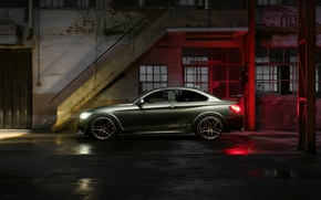 Picture Reflection, BMW, Machine, Light, Bumper, Windows, The building, Door, Lights, Drives, Puddles, ACL2S, M240i