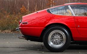 Picture Red, Color, Auto, Retro, Disk, Machine, Classic, Wheel, Car, 365, Sports car, Gran Turismo, Daytona, …
