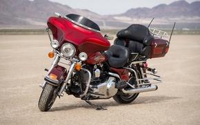 Picture style, bike, Harley-Davidson