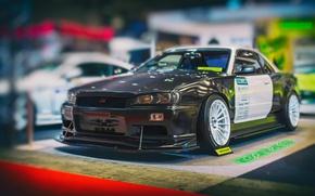 Picture Nissan, GT-R, Skyline, R35, Nismo, Tokyo Auto Salon, URAS, Dunlop Direzza ß02, Japanese tuning, the …