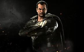 Picture god of thunder, Black Adam, Injustice 2, Netherrealm
