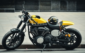 Wallpaper yamaha, bike, style
