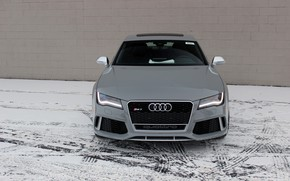 Picture audi, winter, rs7